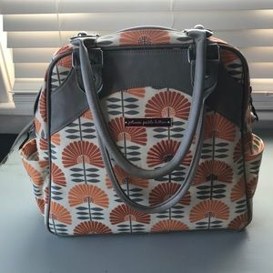 Diaper bag in fun print